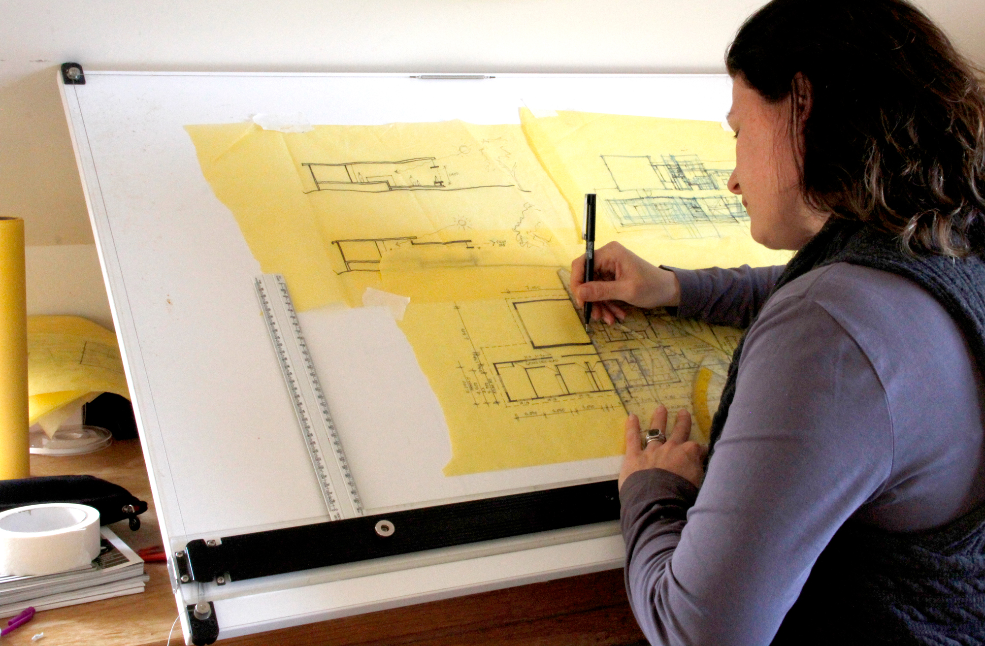 a profession profile architects This is commonly taken in architects' practices, but may be in any sector of the building industry, including construction and design, as long as the work is related to architecture and is supervised by a construction professional.